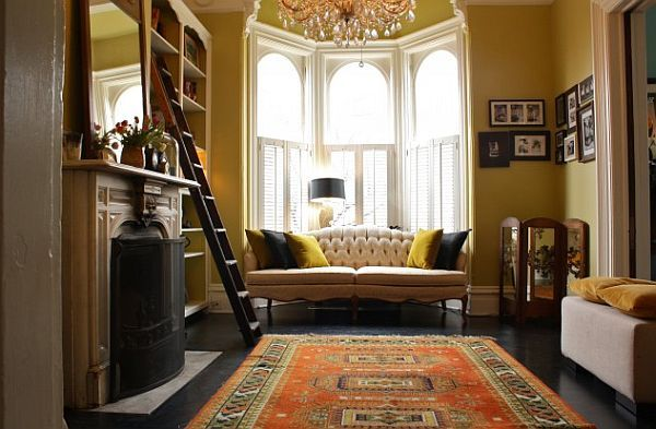 Bay Window Couch how to utilize the bay window space | window, living rooms and spaces
