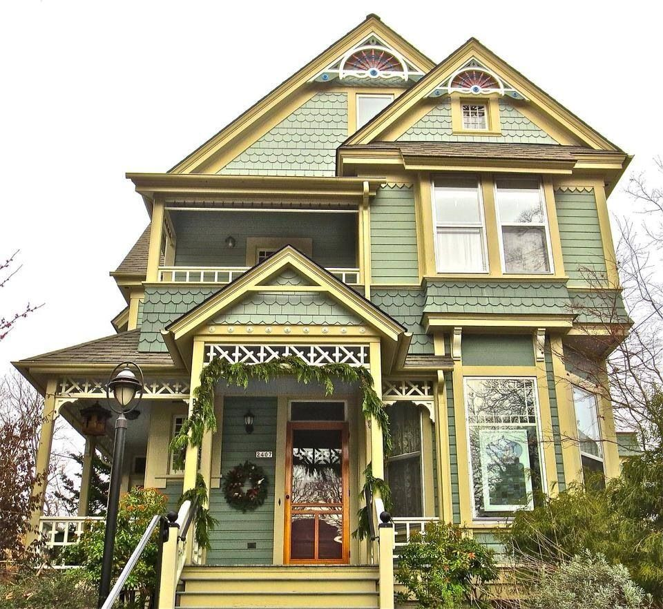 Victorian Homes, Pretty House, Exterior