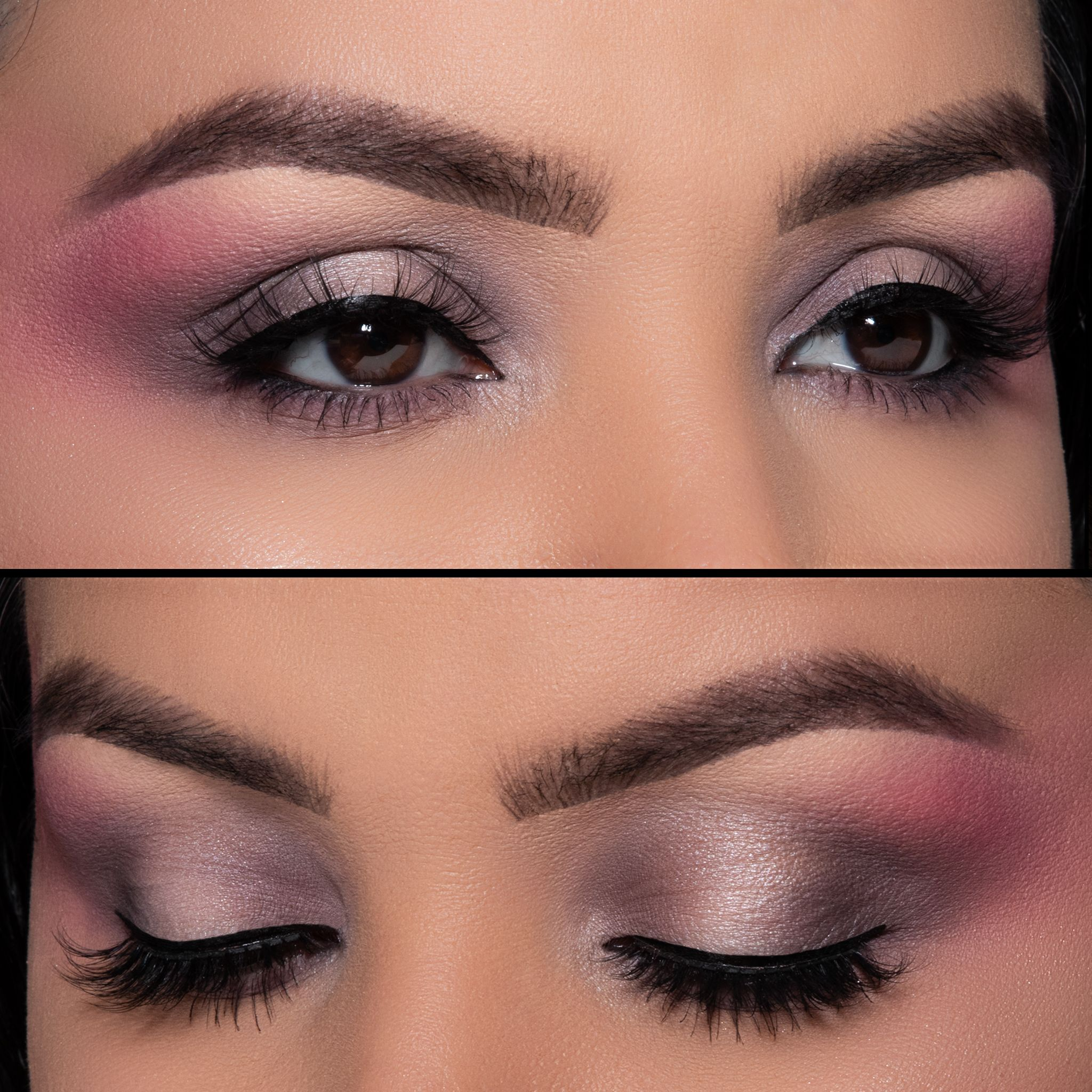 Euphoria Purple Eye Look in 2020 Purple eyes, Blush