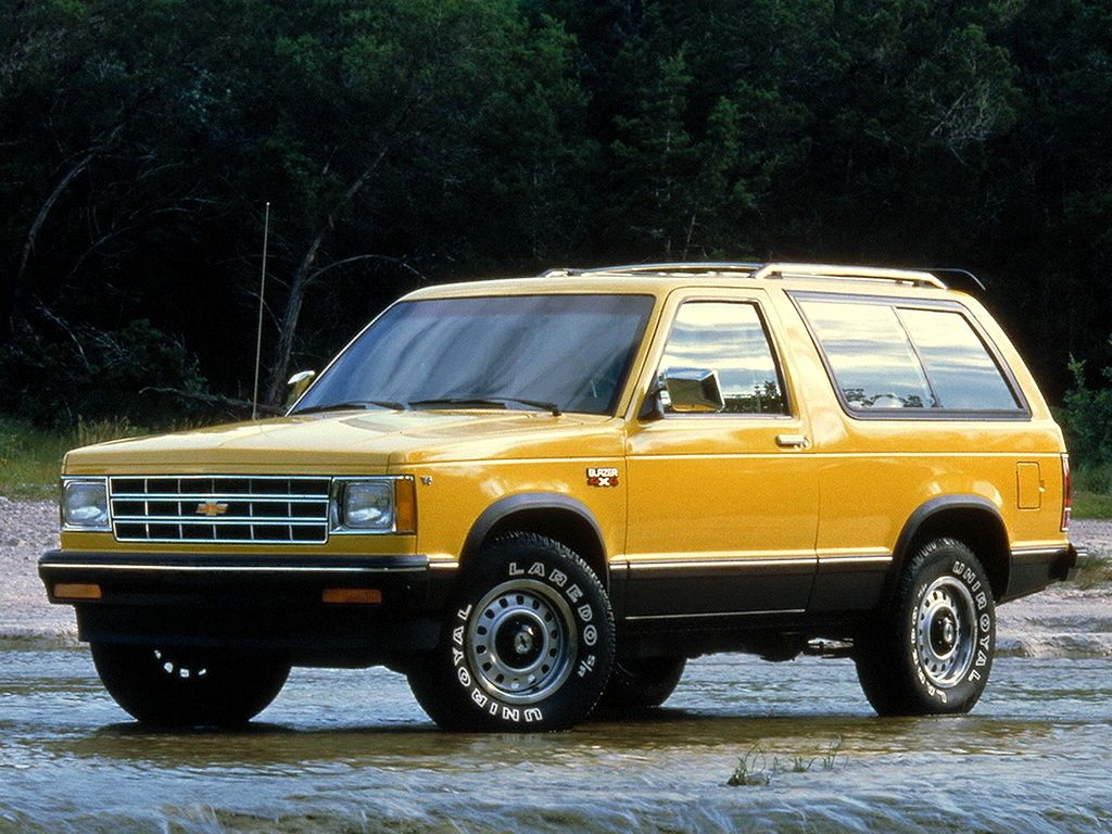 Pin By Costanza Carbone On Cars Trucks Motorcycles Chevrolet Blazer Chevrolet Chevrolet S 10