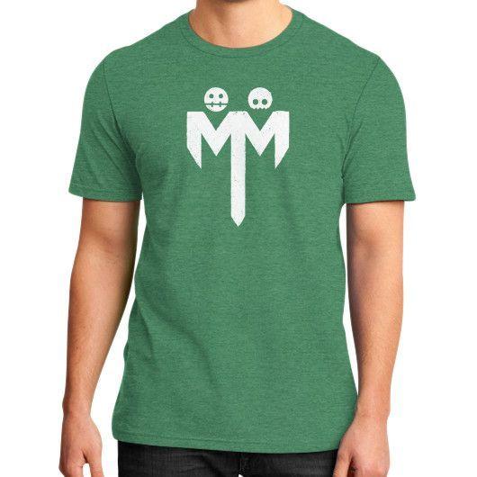 MM Distressed District T-Shirt (on man)