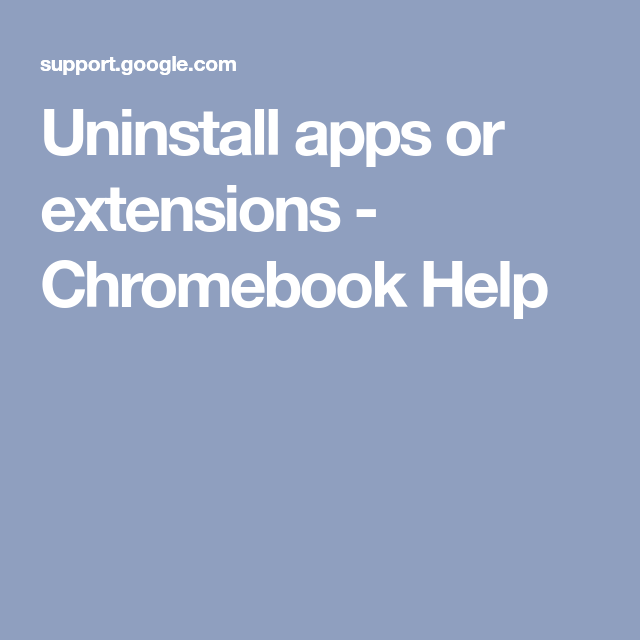 how to turn off extensions chromebook