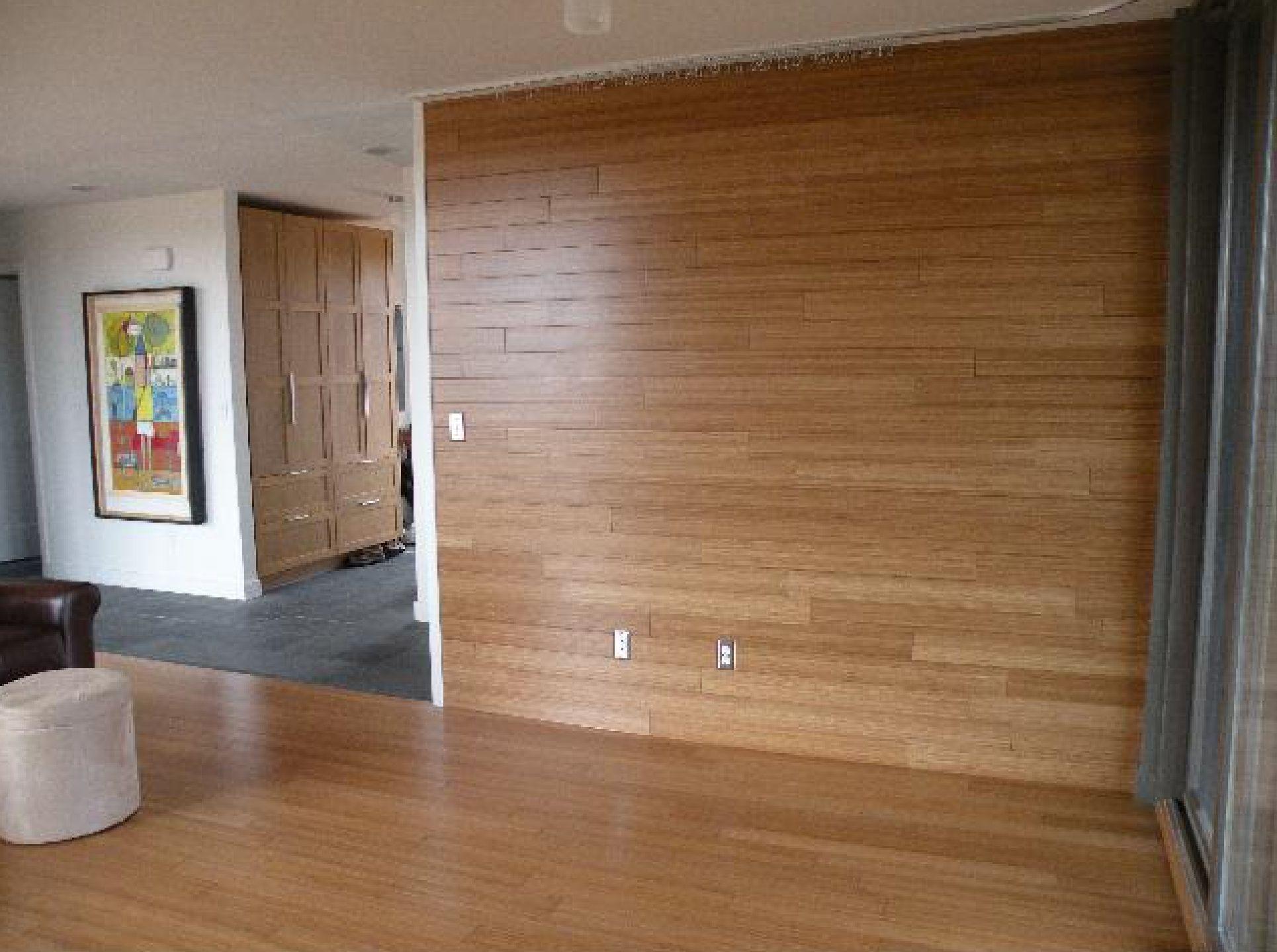 Bamboo Panel Wall Sj Inspiration Reception Wood