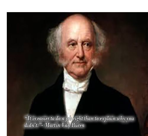 martin van buren quotes - Google Search