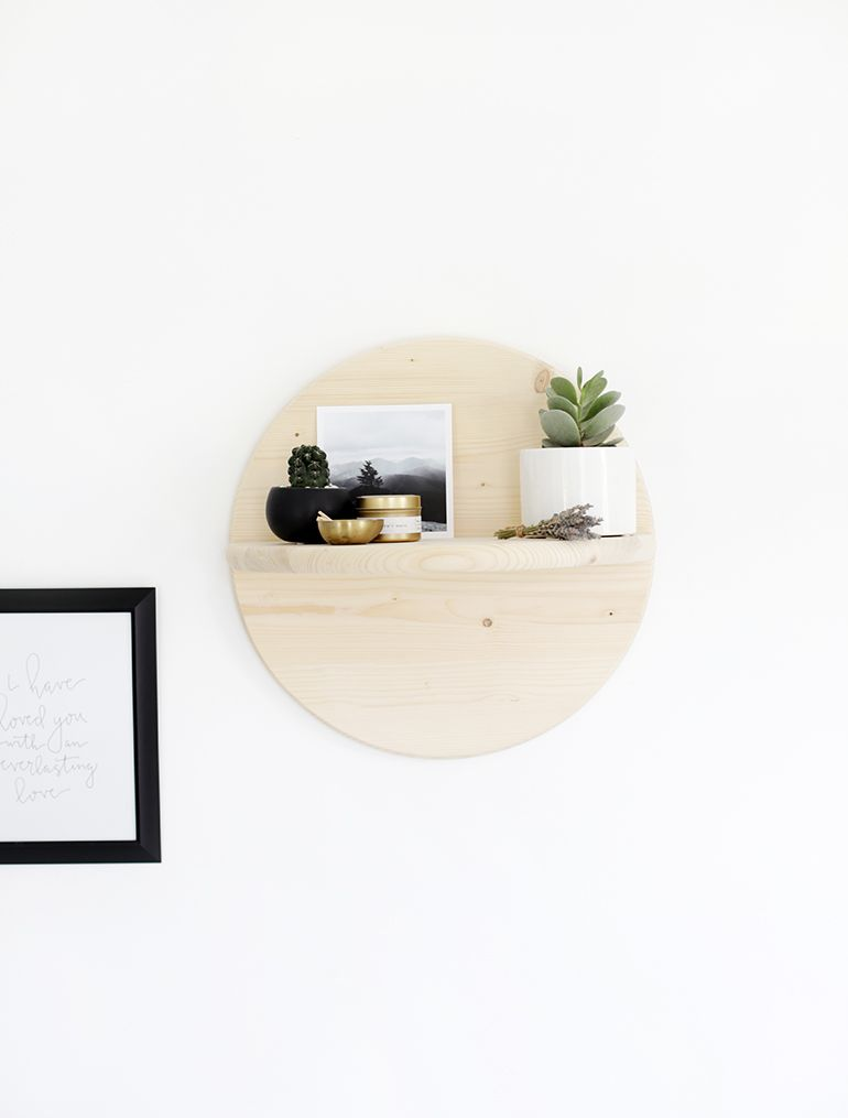 Photo of DIY Circle Shelf