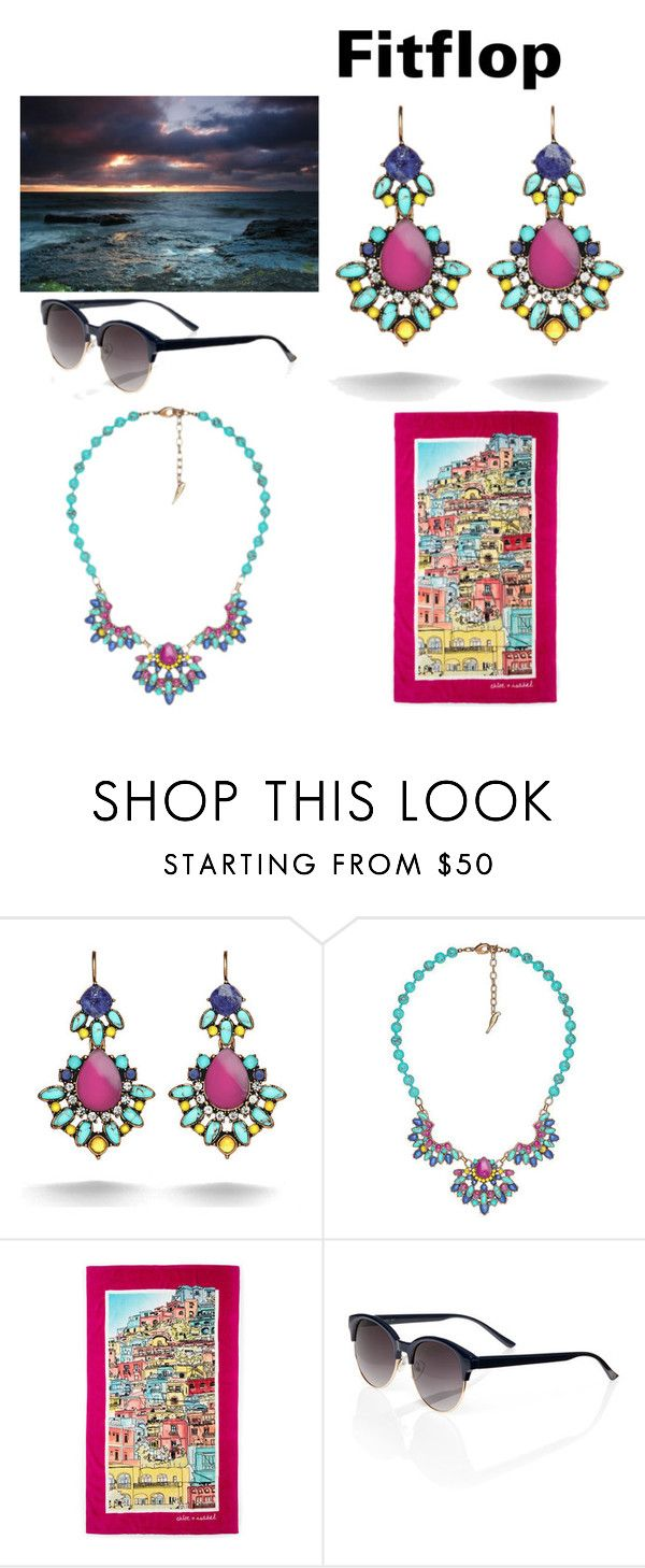 """Fun in the Sun!""  on Polyvore featuring Chloe + Isabel. https://www.chloeandisabel.com/boutique/ellenrother"
