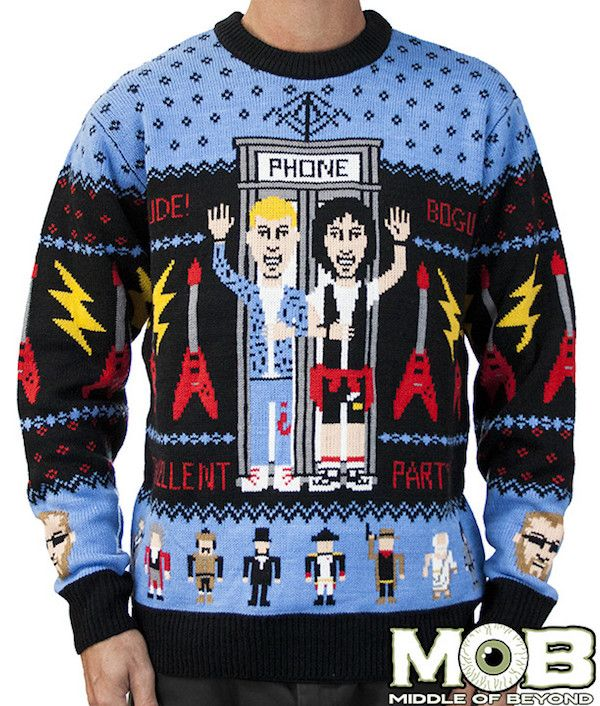 Nerdy Christmas Sweater.Mob Strikes Again With The Best Ugly Nerdy Christmas