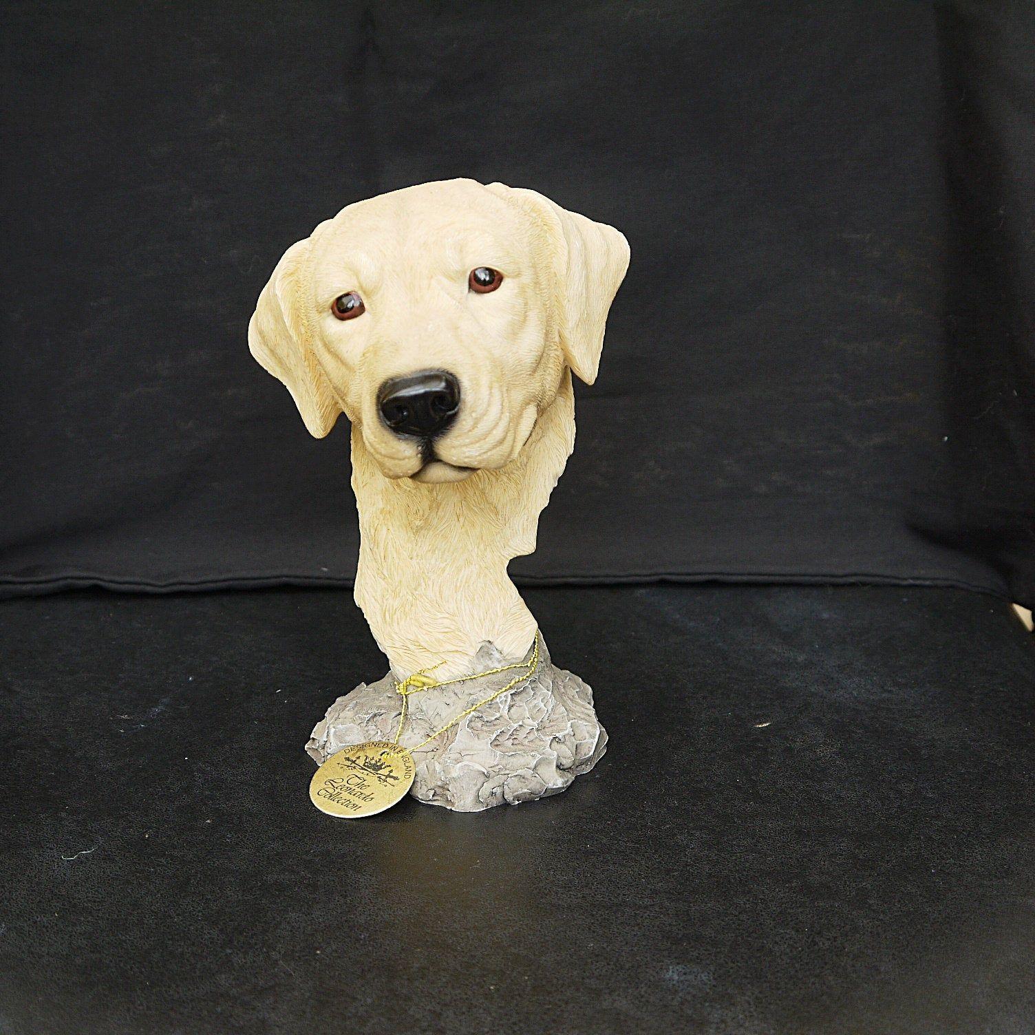 Leonardo Collection Dog Studies Sitting Large Decorative Ornament Figurine Gift