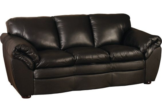 Black 100 Genuine Leather Sofa With Images Genuine Leather Couches Real Leather Sofas Genuine Leather Sofa