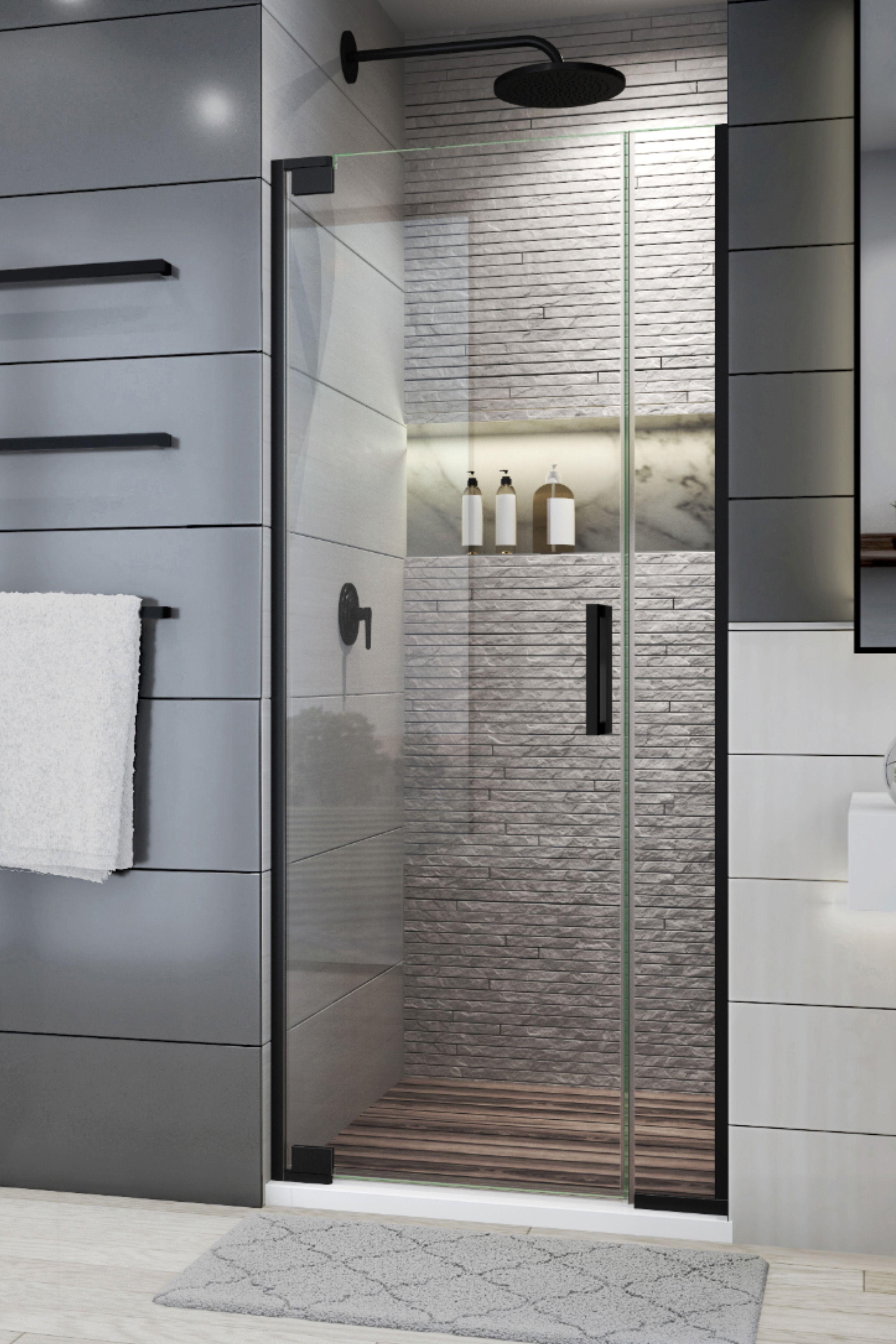 Streamline Your Bathroom With A Slim Profile Door Bathroom Shower Doors Shower Doors Walk In Shower Doors