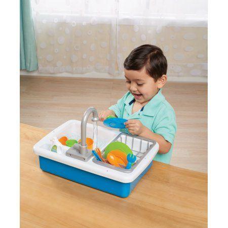 Spark Create Imagine Kitchen Sink Play Set Designed For Ages 3 Walmart Com Sink Playset Kitchen Sink