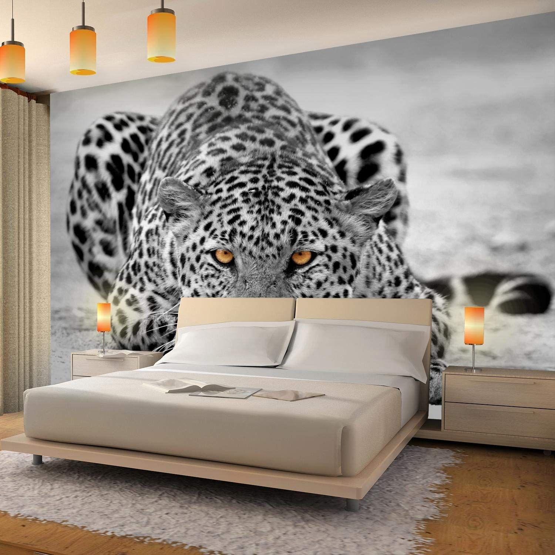 3D Effekt Wohnzimmer Fototapeten Tapete Fototapete Vlies Afrika Wandbilder XXL