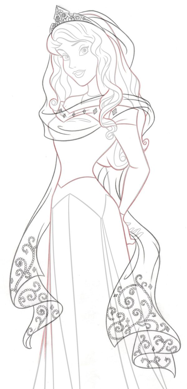 Disney Princess New Redesign Style Guide Art By Cyndy Bohonovsky Via Behance Princess Coloring Pages Disney Coloring Pages Disney Princess Coloring Pages