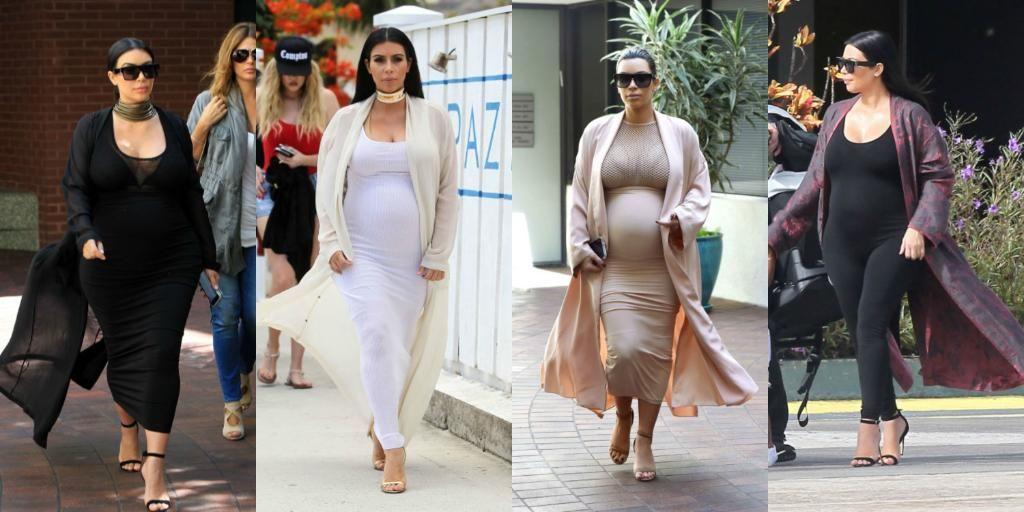 A history of the many, many times @KimKardashian has worn a long robe while pregnant: http://www.elle.com/fashion/celebrity-style/g26029/kim-kardashian-2015-fashion/…