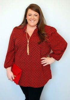 Extended Sizes: Free Falling In Red