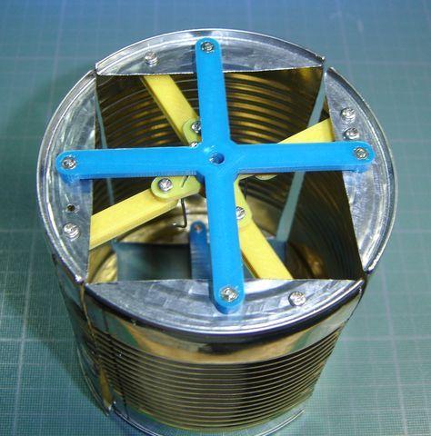 Une éolienne à axe vertical -4- - まこと の ブログ   Eolienne, Eolienne verticale, Diy éolienne