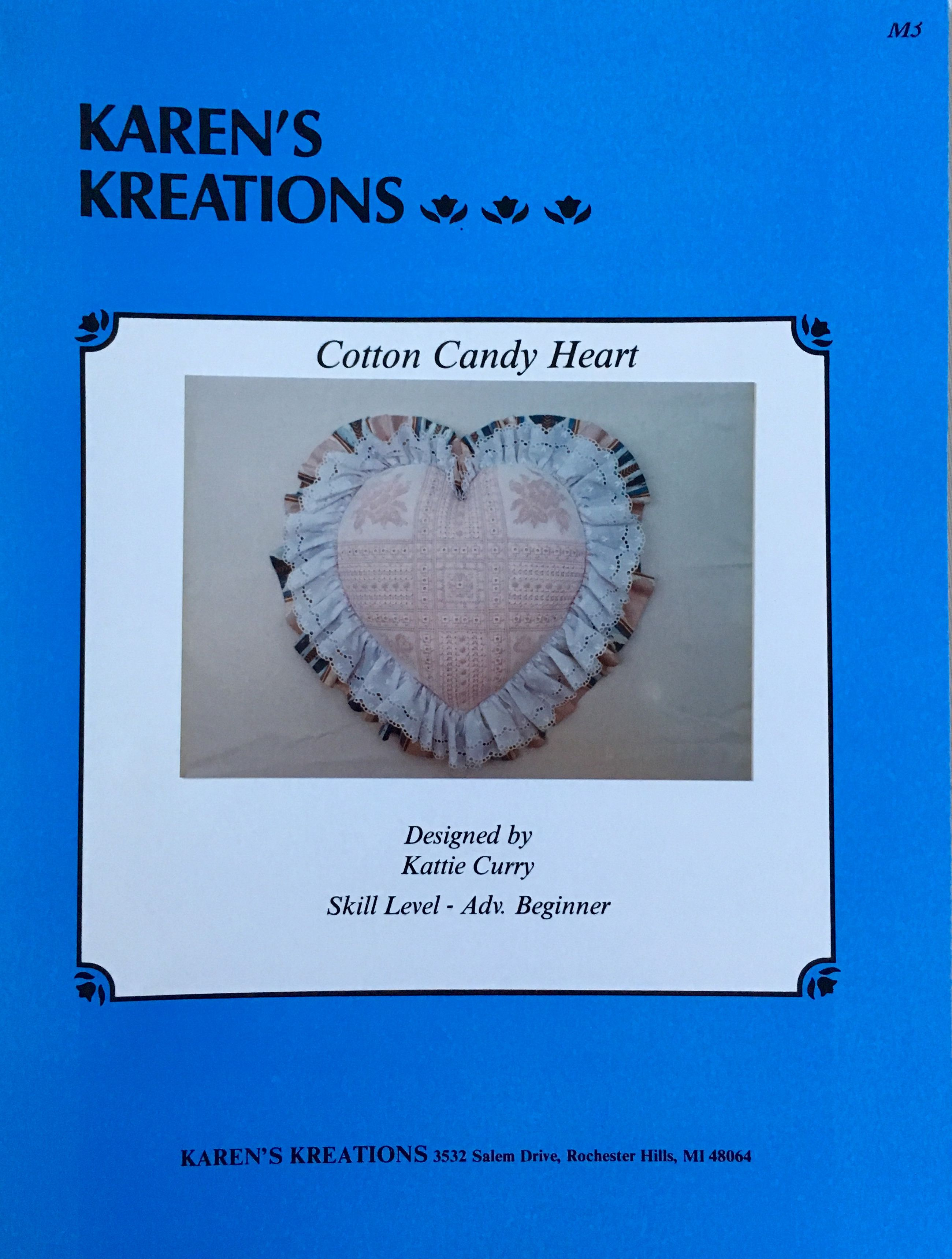 Cotton Candy Heart By Karens Kreations