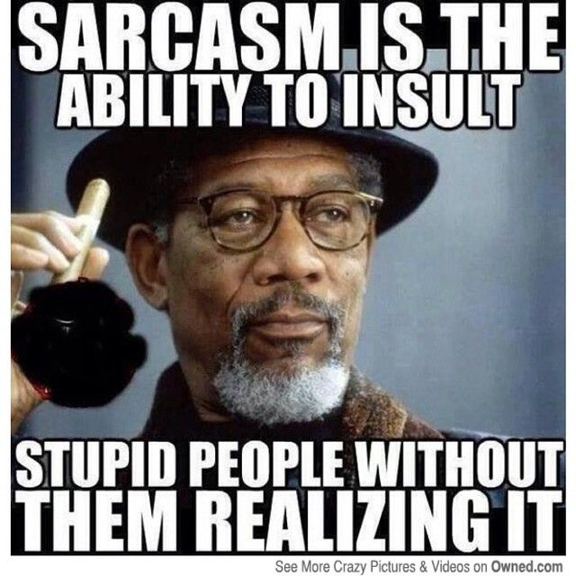 Sarcastic Memes Bing Images Sarcasm Pinterest What Is