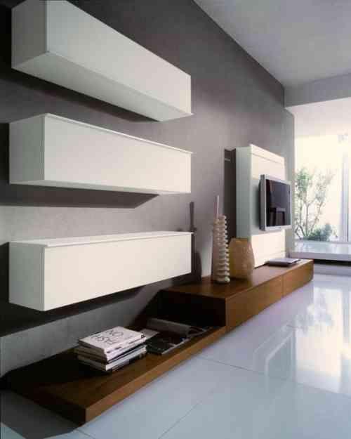 20 idées comment intégrer le meuble télé dans le salon Salons, Tv