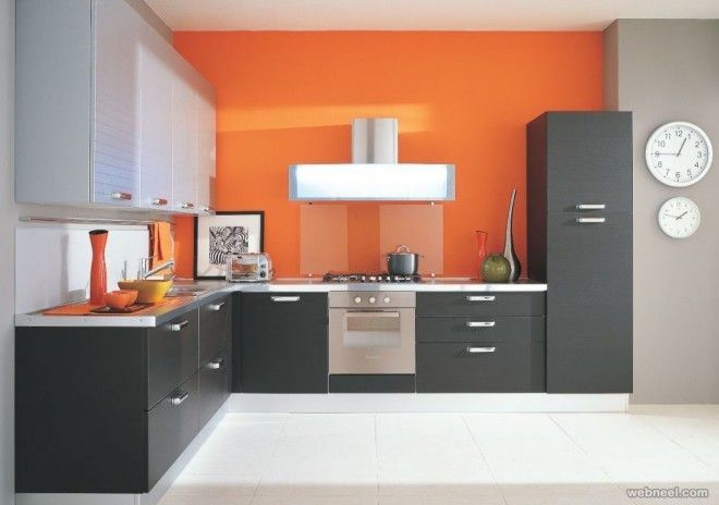 Kitchen Modern Kitchen Wall Paint Ideas Modern Kitchen Wall Paint