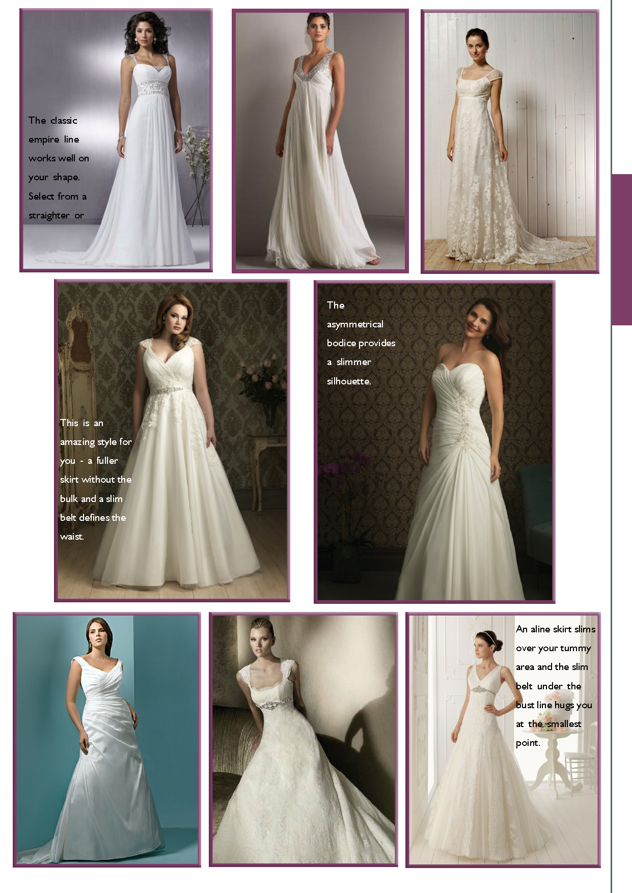 Isabella apple body shape bridal gown suggestions. | Gorgeous Gowns ...