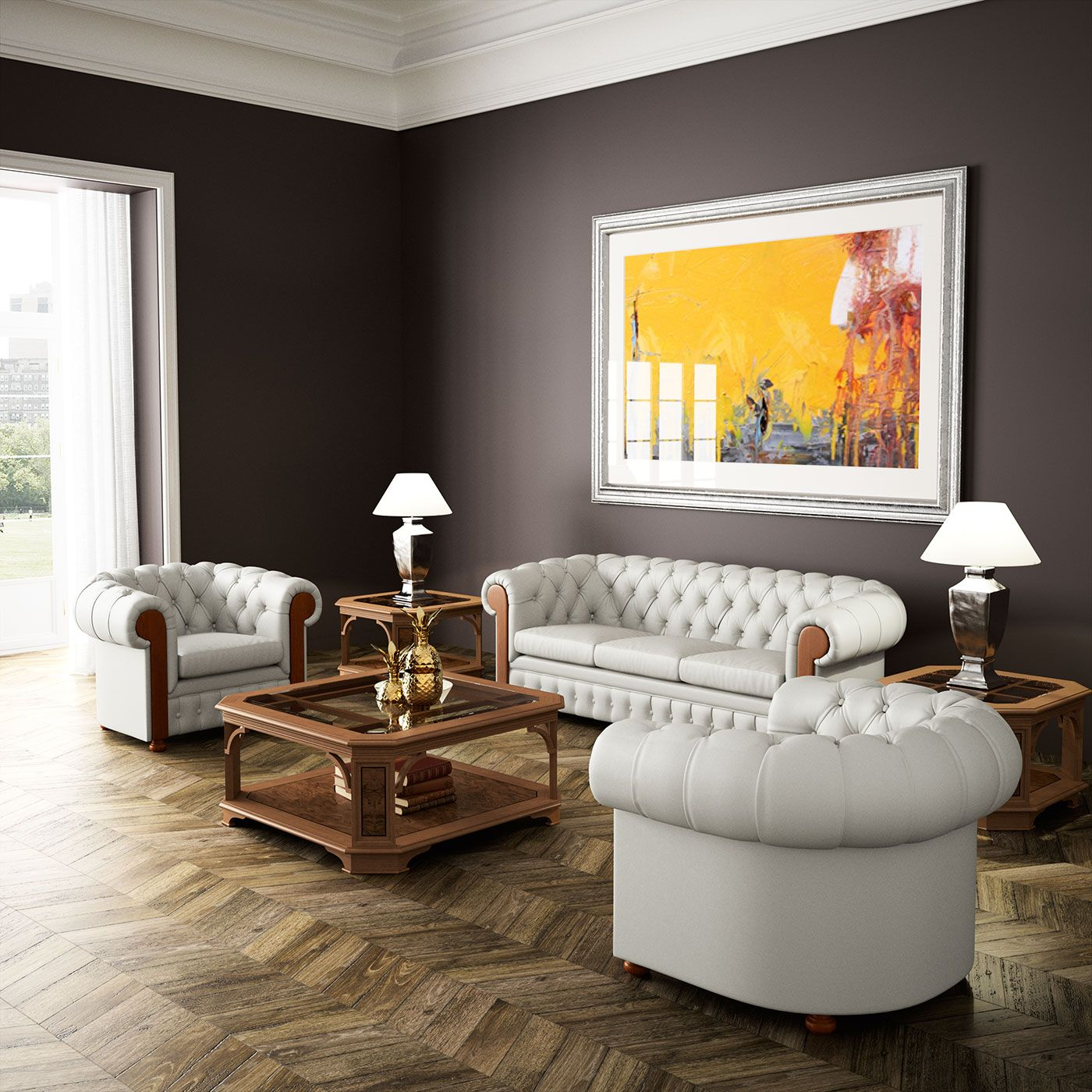 Muebles Cl Sicos De Oficina De La Serie Art Moble Con Acabados En  # Muebles Direccion