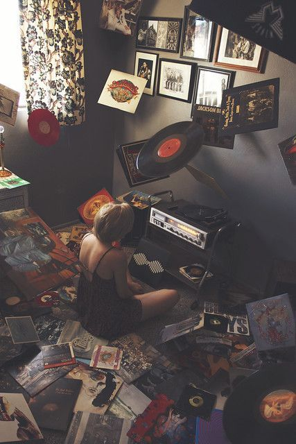 For the love of music – Music aesthetic #vintagemusic