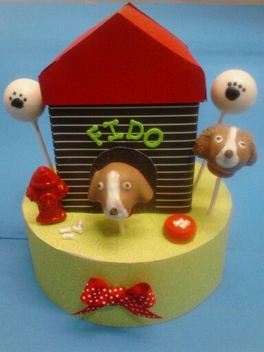 Puppy cake pops www.cakepopscenestn.com