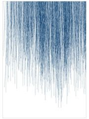 Blue Rain Karte (Din A5)
