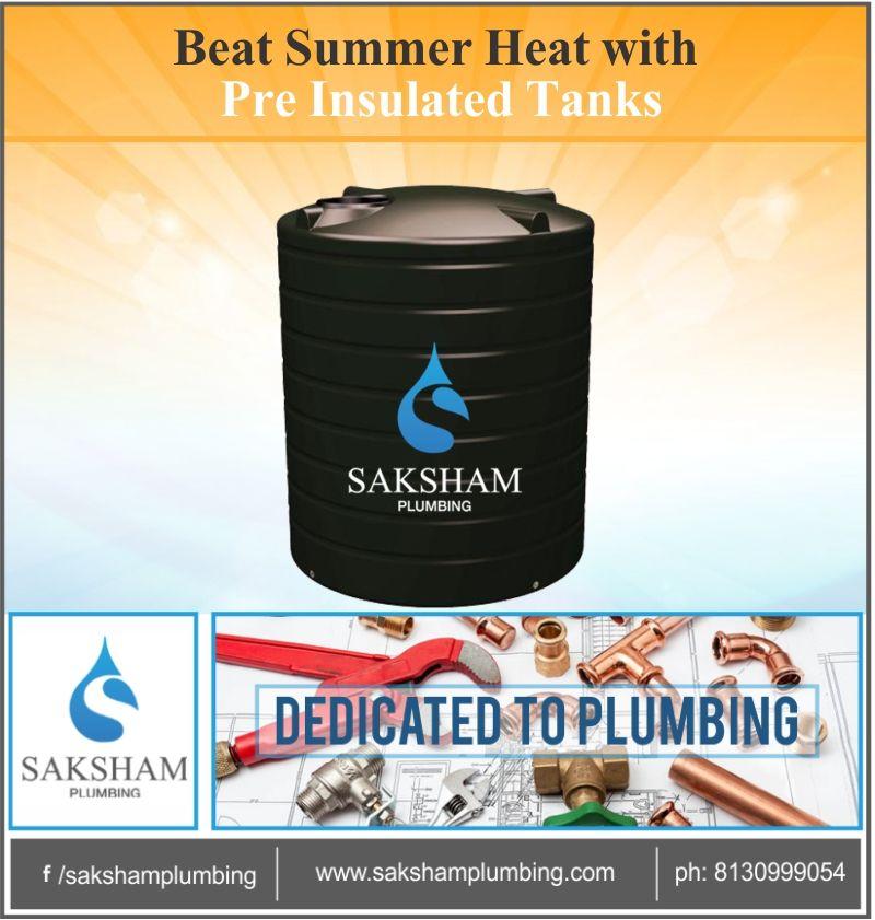 Pin by saksham plumbing on water tank water tank water