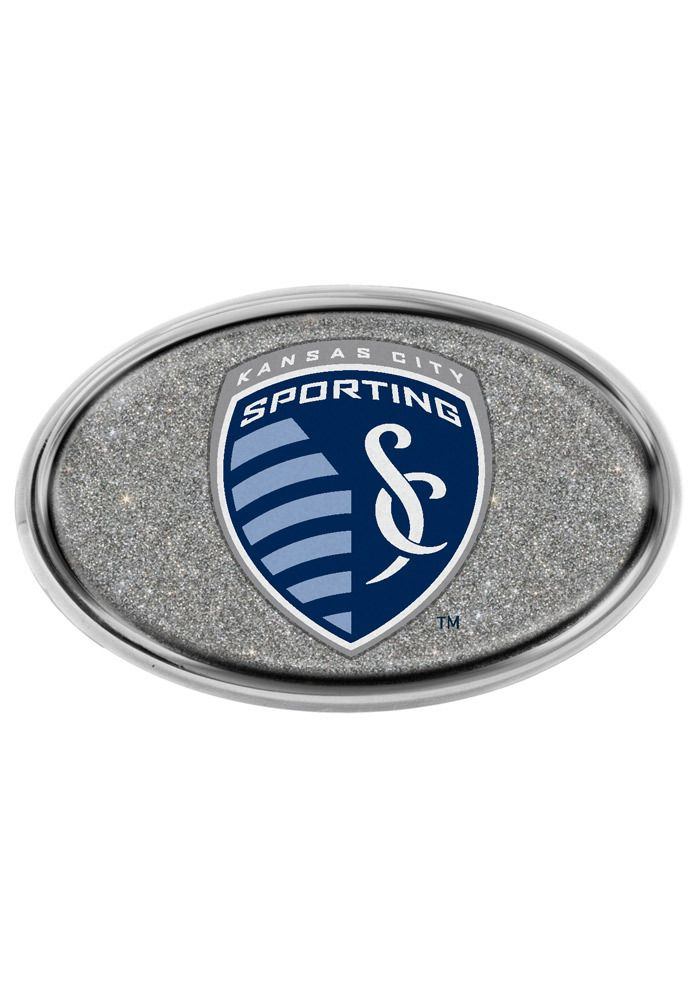 Sporting Kansas City Logo Glitter Domed Auto Emblem Http Www