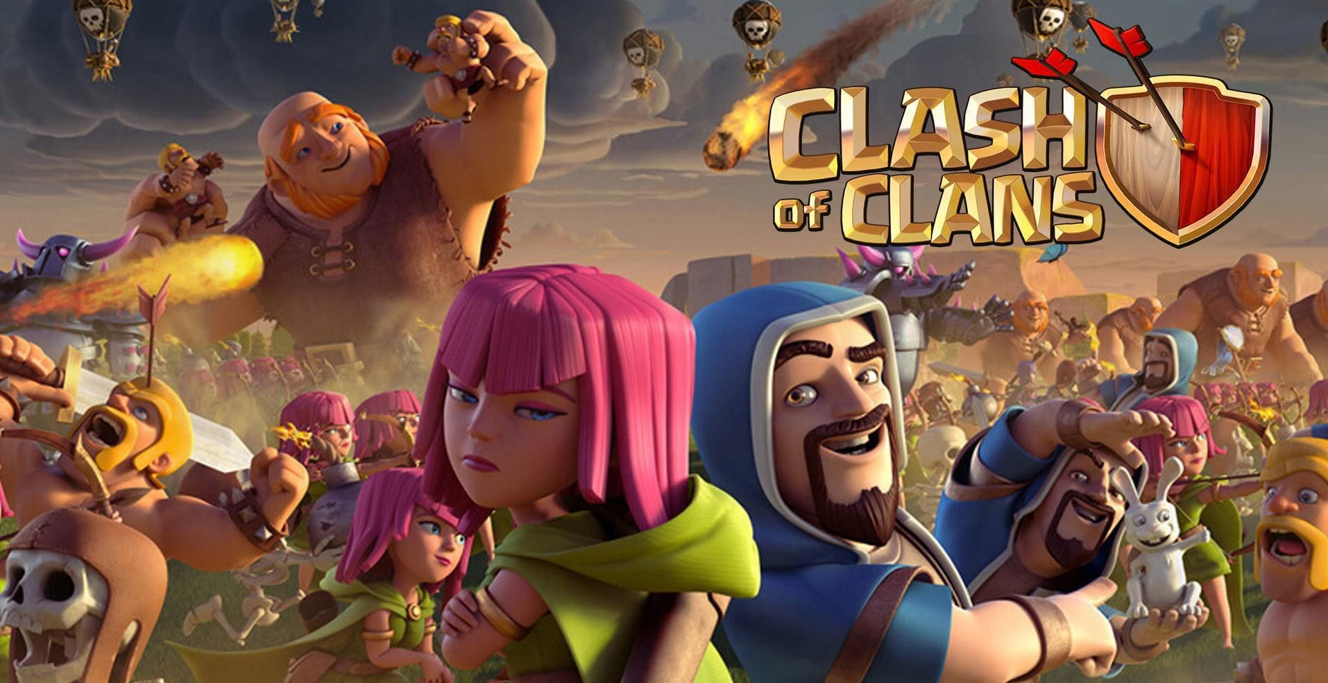 Top 100 Cool Clash of Clans Player Names | Clash of clans
