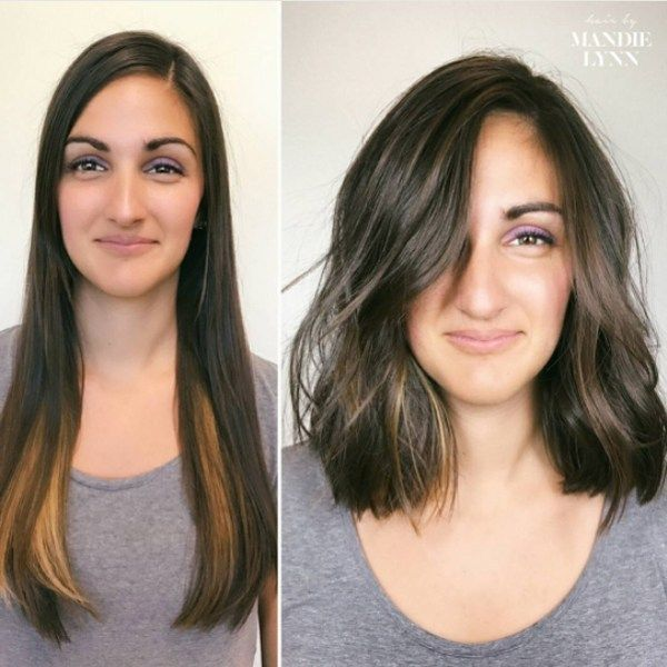 Mind Blowing Hair Transformation Before After Photos Gallery Hair Transformation Before And After Haircut Hair Makeover