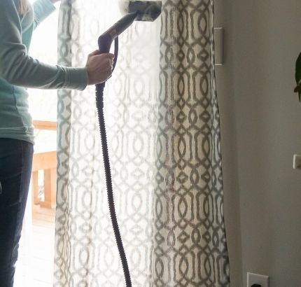 How To Remove Wrinkles From Curtains Without An Iron Wrinkle