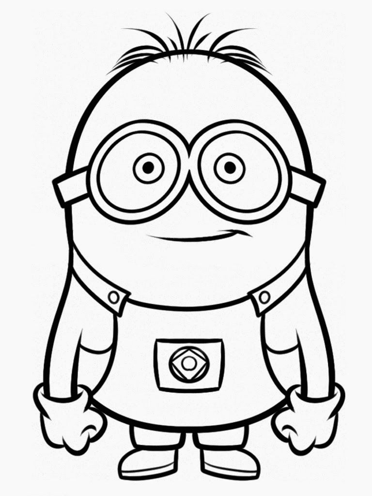 Despicable Me Coloring Pages | Coloring books | Pinterest | Zapatos ...