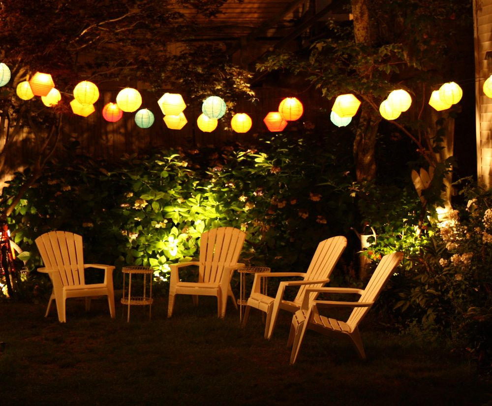 Beautiful Patio Lights 1