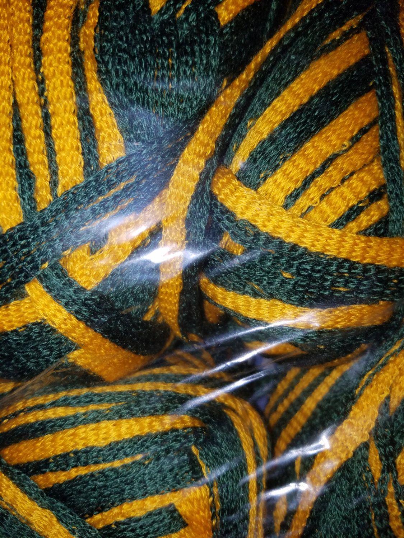 Csu colorado state university infinity scarf crocheted
