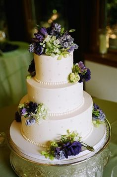 wedding cakes purple blue green | Wedding Cakes 1 | wedding ideas ...