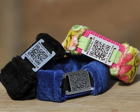 Keep Me Safe Ids Qr Code Medical Id Special Needs Safety Bracelet For Individuals With Elopement Issues
