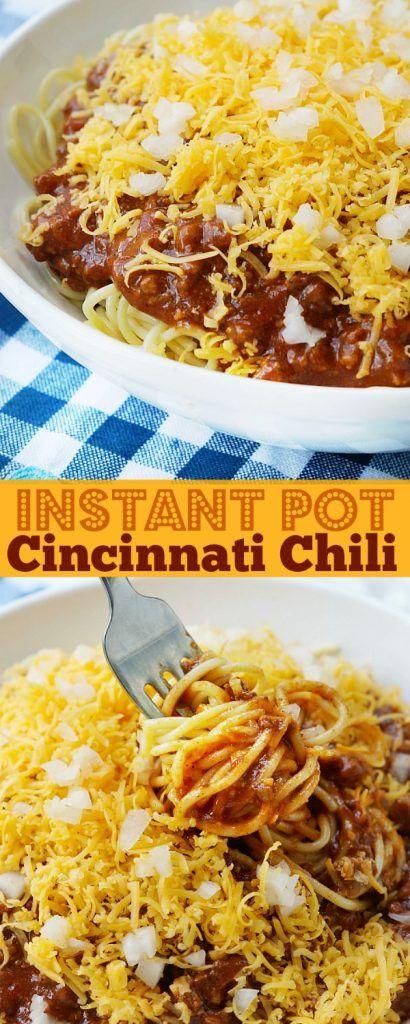 Cincinnati Chili Recipe: Instant Pot Cincinnati Chili