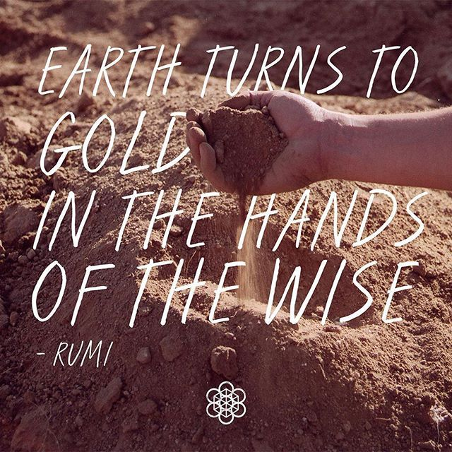 What inspires you to work with the Earth? @calearthinstitute