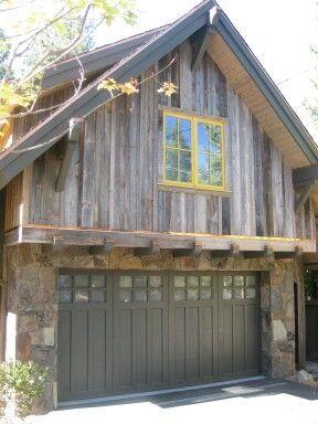 Garage With 4x8 4x10 And 4x12 Fatboy Pine Siding With 10x10 Pine