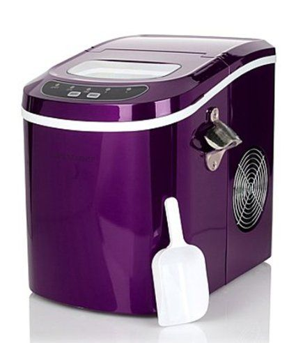 Improvements Portable Ice Maker With Bottle Opener 2 Cube