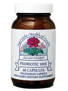 Ayush Herbs Broad Spectrum Probiotic 100B