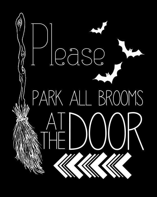photograph regarding Halloween Signs Printable known as Pin upon Halloween