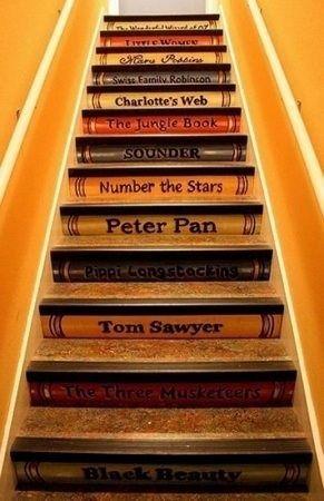 Painted stairs - Original!!