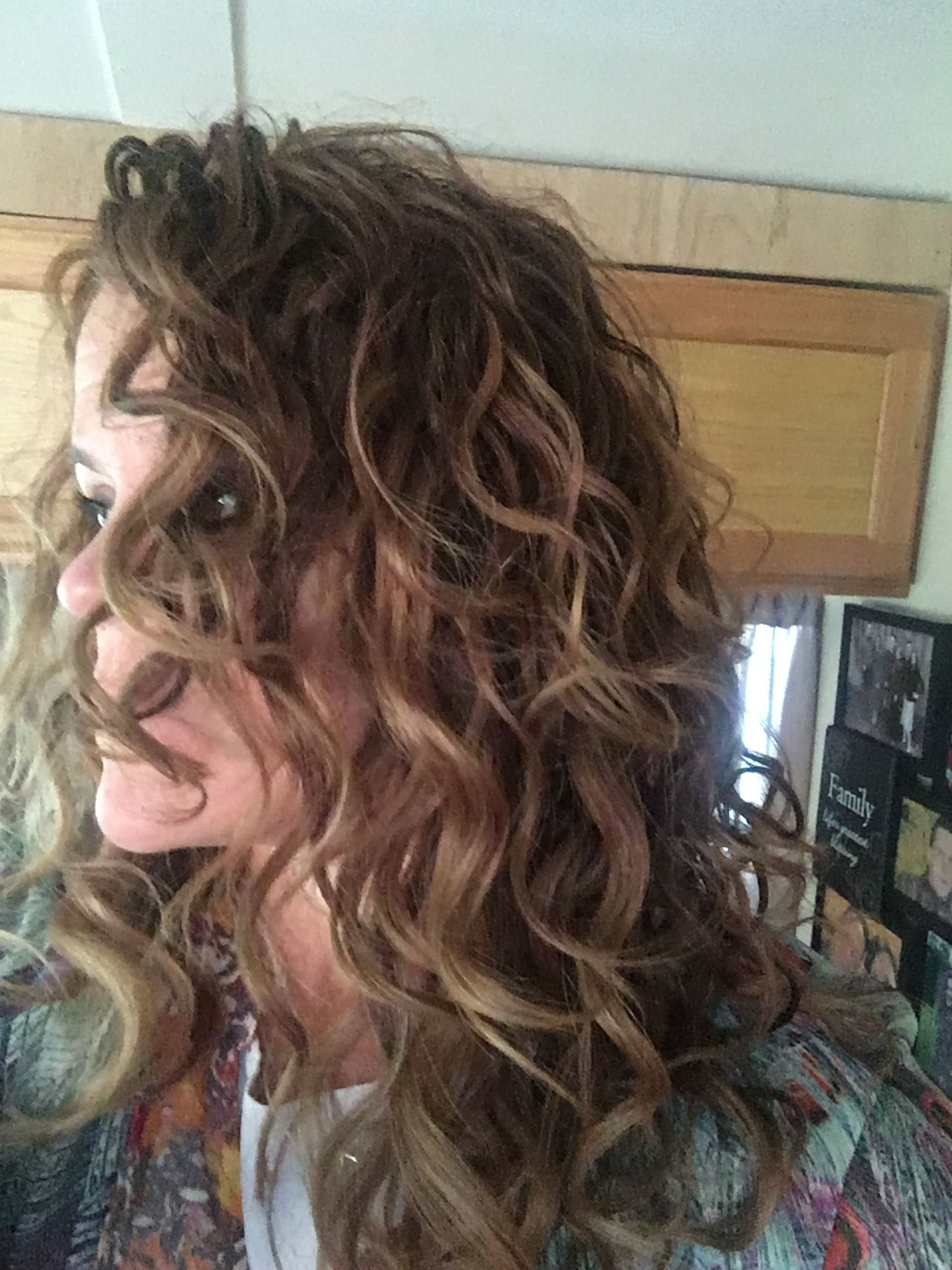 Natural Curly Hair 2c 3b Hair Type Lcg Method Curlygirl