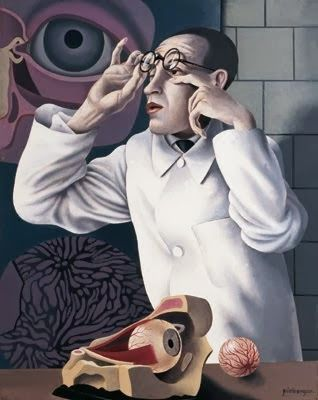 Self-portrait with Ophthalmological Models by Herbert Ploberger 91928)
