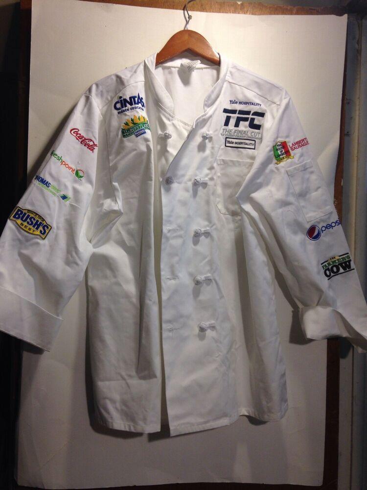 eBay #Sponsored Cintas Style # 115150 -00 White Chef Coat Jacket