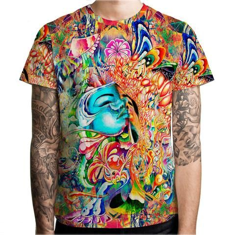 Psychedelic psywear clothing and t-shirts.